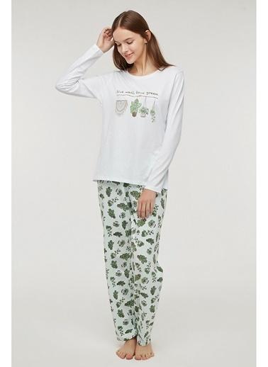 Penti Live Well Pijama Takımı Renkli
